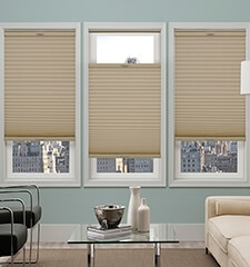 Comfortex Honeycomb Cellular Shades: Blackout