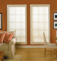 "Comfortex® 3/8"" Double Honeycomb Cellular Shades: Symphony in Forte"