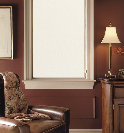Comfortex® Envision® Roller Shades: Classic shown in Eggshell