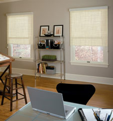 Comfortex® Envision® Roller Shades: Aspen shown in Sand