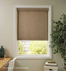 Good Housekeeping Solar Screen: Textured shown in Spun Gold