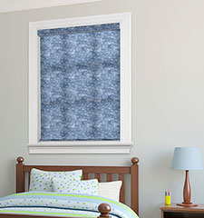 Expressions Roller Shade shown in color Vintage Planes - Clear Skies