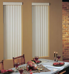 Blindsgalore® Fabric Vertical Blind: Premium Textures II